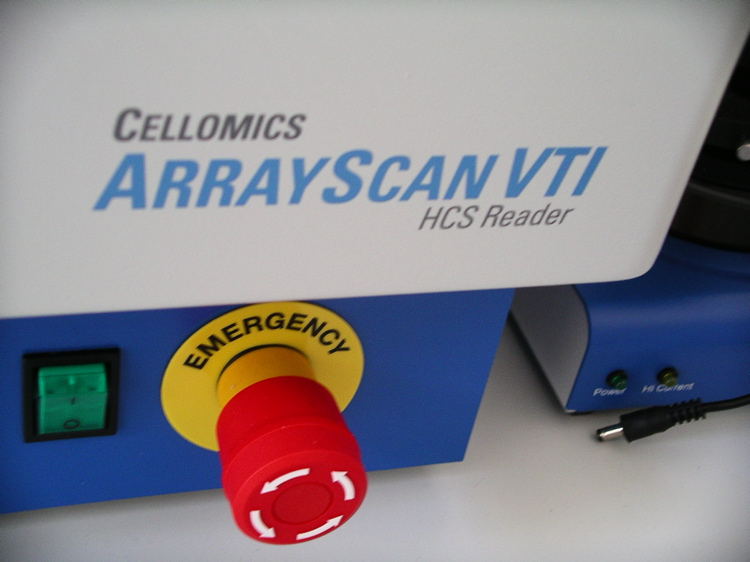Der Cellomics ArrayScan VTI HCS Reader